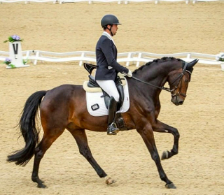 Waverley Dante and Greg Sims 4th at Bolesworth International